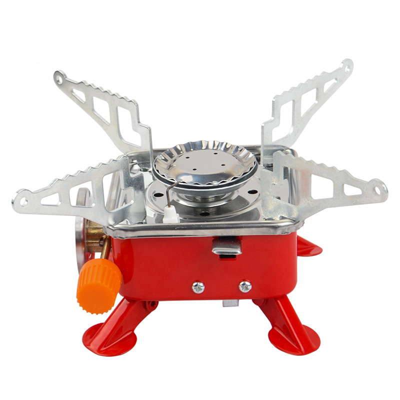 Desert&Fox Camping Gas Burner Lightweight Hiking Gas Stove Outdoor Picnic Cookware Camping Equipment Portable Stove