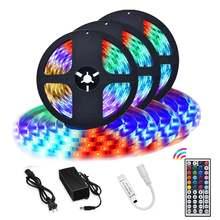 Светодиодные ленты светильник s 5050rgb 5 м 10 15 Цвет меняющийся