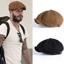 Octagonal Hat Newsboy-Caps Flat-Caps Retro Women Autumn Winter And Warm Unisex for Male