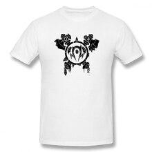 2019 Mens Basic Short Sleeve T-Shirt 3D Print t shirt World Of Warcraft Drawing Cotton Funny T-shirt home Top Tees