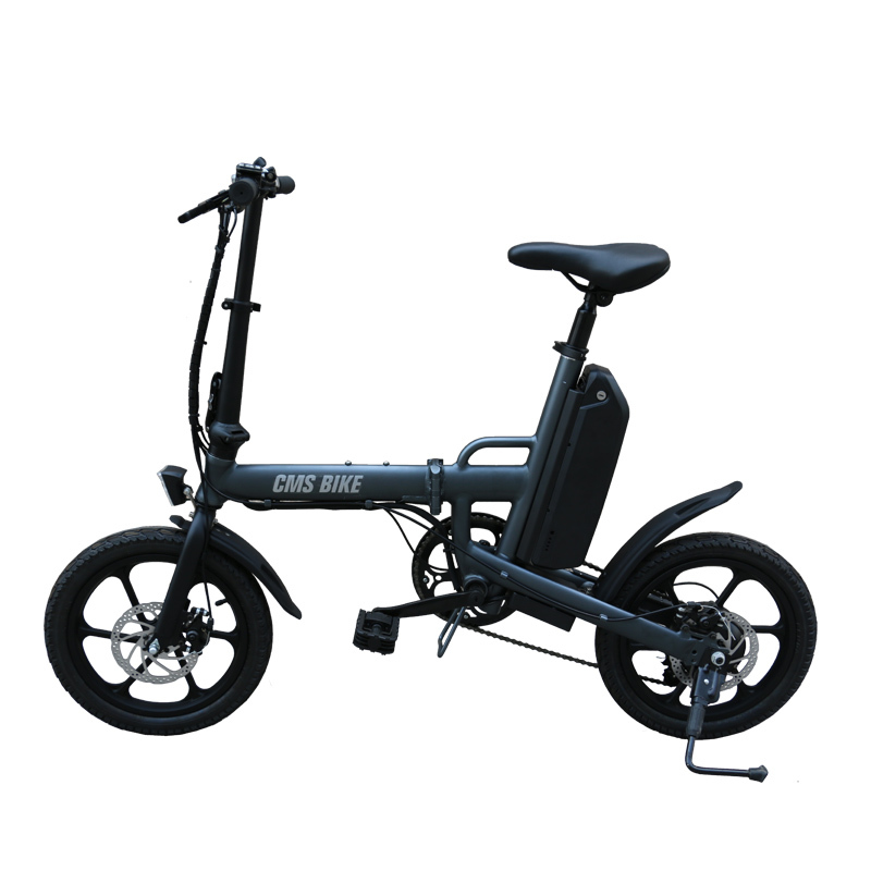 "16"" folding variable speed city folding ebike with aluminium alloy frame 3"