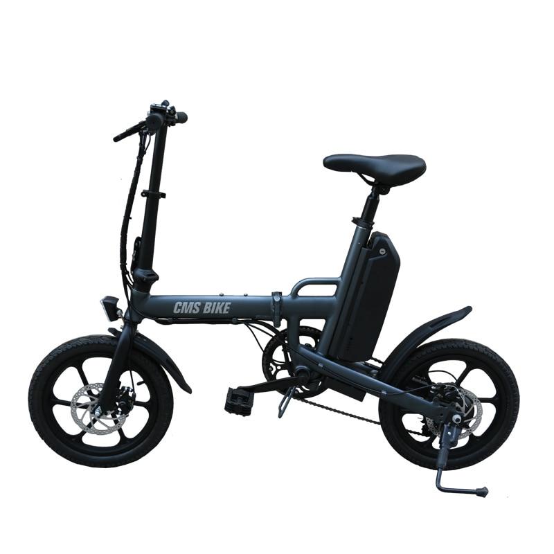 CMS bike f16 plus 16 inch foldable e bike 3