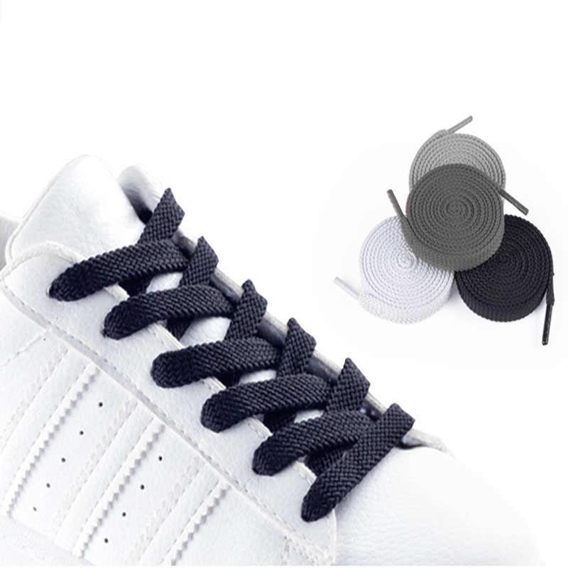 Sneakers diárias mulheres cadarços coloridos Cadarços Planas para mulheres homens sapatos de nylon sólido branco cinza preto rosa vermelho azul cadarços