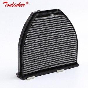 Image 5 - Cabin Filter A2128300038 1Pcs For Mercedes Benz E CLASS W212 S212 A207 C207 2009 2019 E200 E250 E300 E350 E400 E500 E63AMG Model