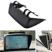 7 Inches Car GPS Cover Navigator Sun Visor Black Universal Screen Mask GPS Accessories Sun Visor For Car Accessories стоимость