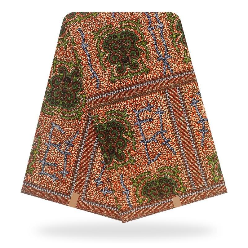 African Wax Print Fabric Hollan Cotton Material High Quality Ankara Fabric Sewing Veritable Dutch Real Dutch Wax 6yard For Dress