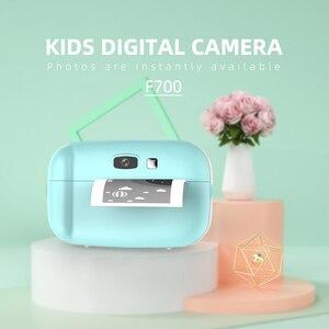 Image 2 - 1080P インスタントスナッププリント子供ミニカメラビデオ Vlog デジタルビデオカメラ 2.0 インチ HD 画面写真撮影ビデオカメラ子供のギフト