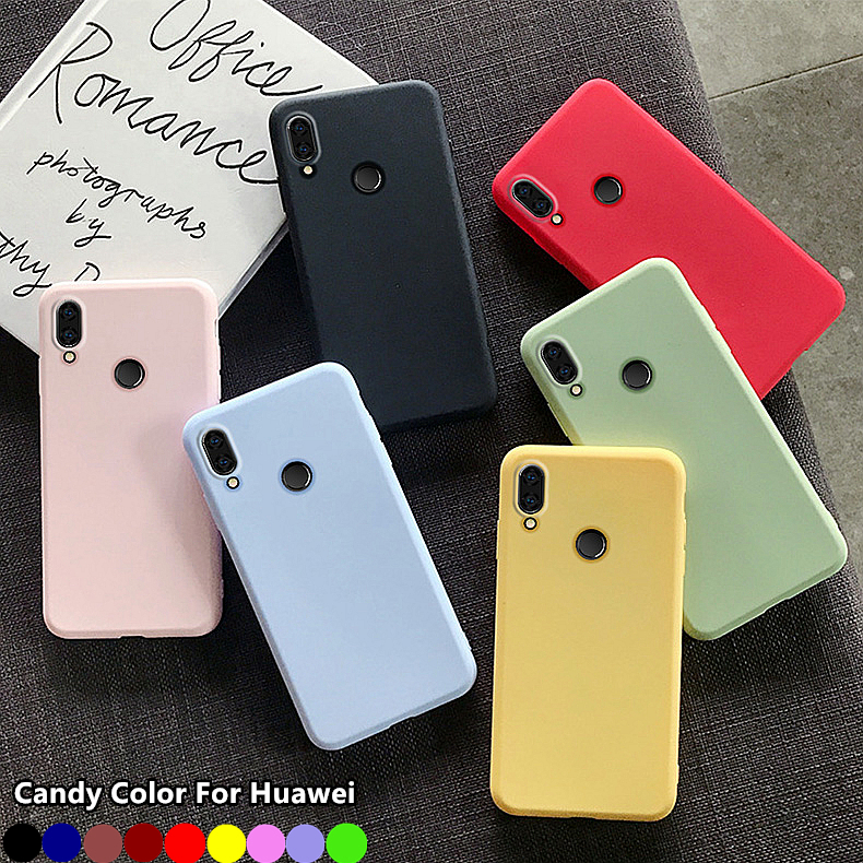 Case For Honor 10 9 8A 9X 10X Lite 10i 30i 7A Pro 7C 8S 8X Silicone Cover Case For Huawei P30 P40 Lite E Y5 Y6 Prime 2019 2018