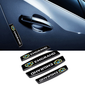 Бампер полосы Embelm логотип наклейки накладка протектор крыло для Geely Emgrand 7 X7 GX7 EC7 EC8 EV8 CK MK BL GT GE