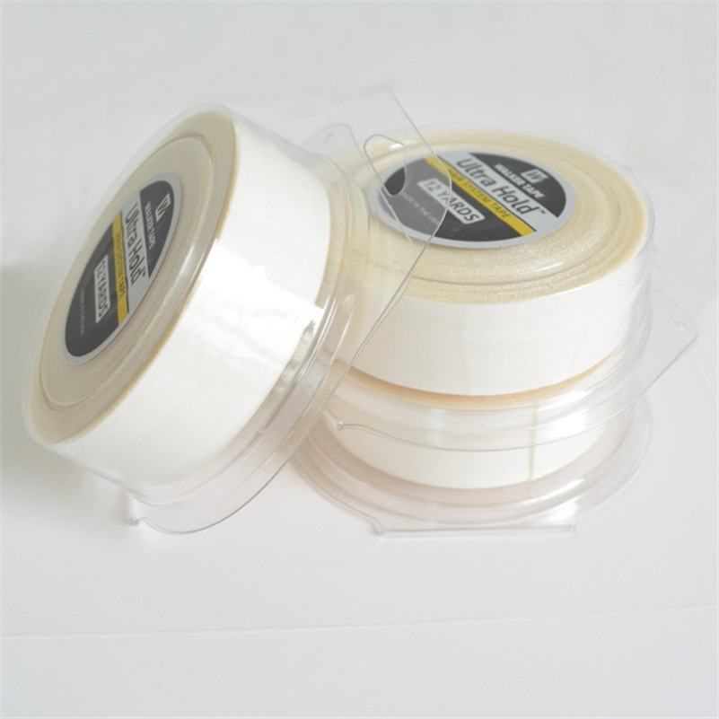 White Ultra Hold Hair Double Sided Adhesives Tape For Hair Extension/Toupee/ Lace Wigs Adhesive Wig Tape 3Yards 12yards 36yards