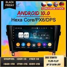 Radio Multimedia con GPS para coche, Radio con reproductor, Android 10, 2 Din, pantalla IPS, DSP, estéreo, para Nissan x-trail XTrail T32 Qashqai J11 2013 + Navi