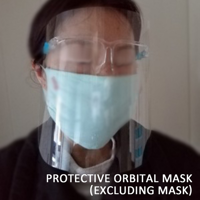 Face Guard Mask ABS Anti-dust Protective Mask Goggle Faces Mask Faces Shield Clear Safety Workwear Mask Eye Protection Cap 2