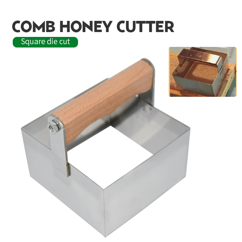 Stainless Frame Scraper Stainless Steel Honey Cutter Cutting Tool Beekeeping Tool Accessories