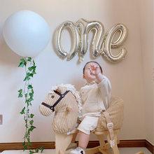 New Baby Shower Siamese ONE palloncino in alluminio decorazione compleanno palloncino festa di un anno primo compleanno decorazione ragazza ragazzo