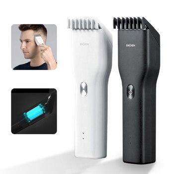 Машинка для стрижки волос ENCHEN, профессиональный триммер для волос, Мужская бритва, домашняя стрижка, Детская стрижка, Экологичная цепь Xiaomi 5