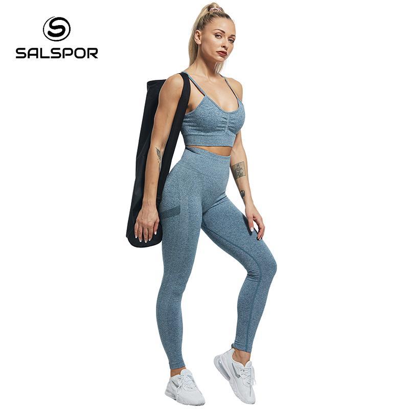 SALSPOR Women High Waist Leggings For Fitness Ladies Sexy Bubble Butt Gym Sports Workout Leggings Push Up Fitness Female Leggins 4