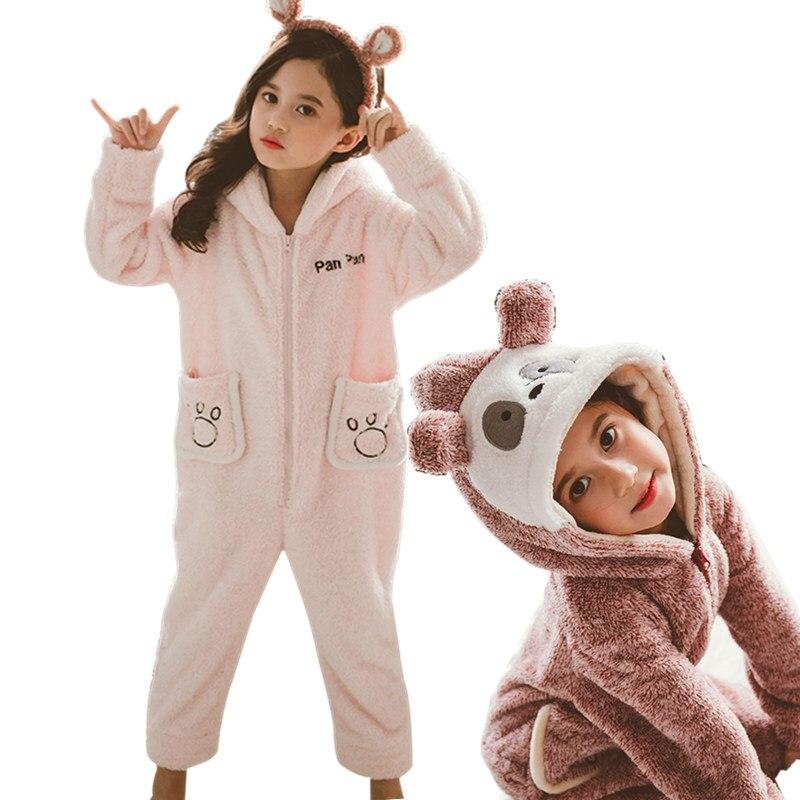 Baby Girl Blanket Sleeper Pajamas Cute Kids Fleece Animal Onesie Children's  Panda Hoodie Onesie Pyjamas Jumpsuit For Teenagers|Blanket Sleepers| -  AliExpress