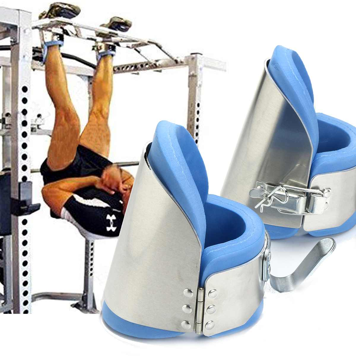 Inversion Gravity Boots Strength Training Hanging Blood Circulation & Bone Growth Hang Up Shoes For Spine Relax And Stretch