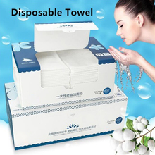 Cotton Disposable Face Towel Travel Cleansing Wipes Makeup Cotton Pads Facial Washcloth Beauty Skin Care Paper Compressed Towels недорого