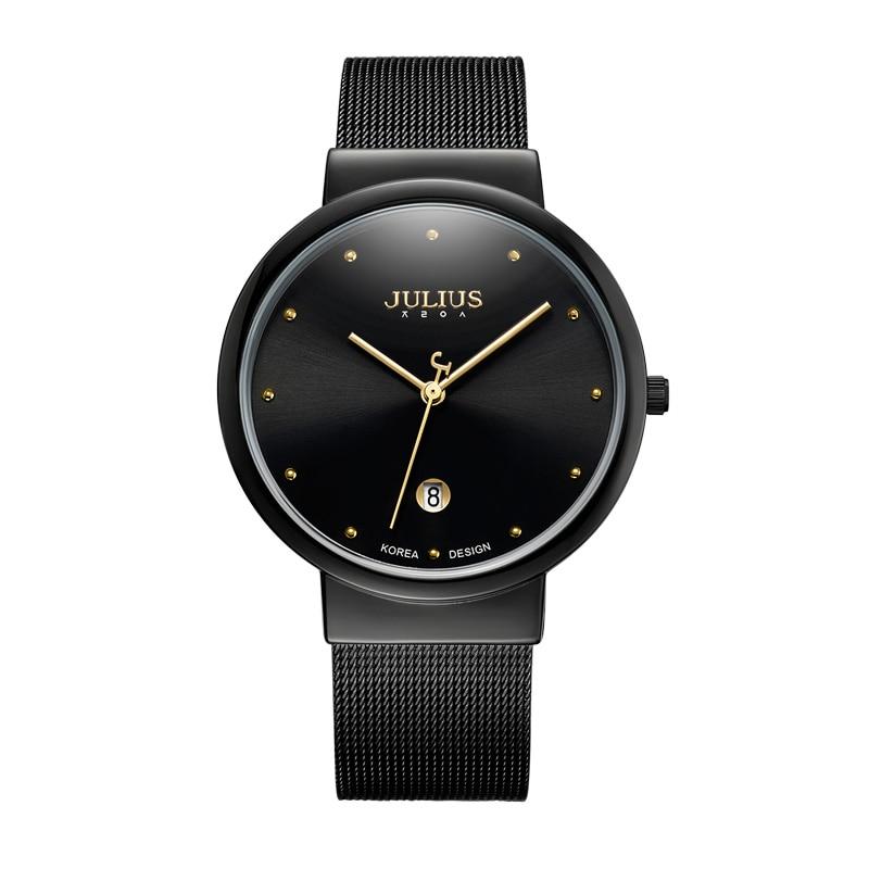 Man Steel Watch Men Quartz Gold Black Silver Wristwatch Fashion Business Classic Ultrathin Waterproof Watch Top Brand Luxury New