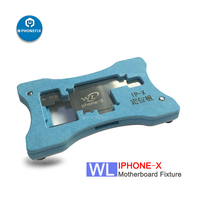 PHONEFIX WL Middle level Board Planting Tin Reballing Stencil Template Location Fixture for iPhone X Motherboard Repair Platform|Hand Tool Sets| |  -