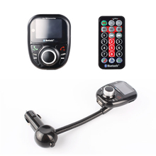 Buy Car MP3 Audio Player FM Transmitter Bluetooth Wireless FM Modulator With LCD Display with Remote Controller Auto USB SD Car Kit directly from merchant!