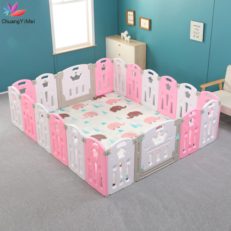 Baby Playpen For Children Pool Balls For Newborn Baby Fence Playpen For Baby Pool Children Playpen Kids Safety Barrier M002