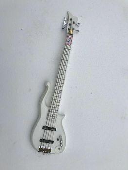 Najwyższa jakość niestandardowe 5 struny gitara elektryczna gitara basowa Wilkinson głowica maszyny przetworniki i most biała perła kolor darmowa wysyłka # F233 tanie i dobre opinie NONE CN (pochodzenie)