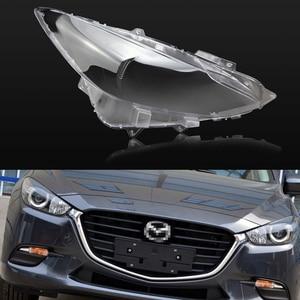 Image 1 - Auto Koplamp Lens Voor Mazda 3 Axela 2013 2014 2015 2016 2017 Auto Vervanging Auto Shell Cover