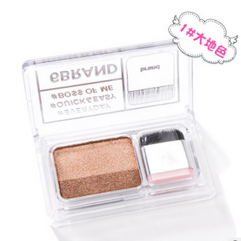 1PC 2 Colors Matte Shimmer Eye Shadow Lazy Eyeshadow Korean Style Cosmetics Stamp Palette Nude Makeup Set Tool Cosmetics