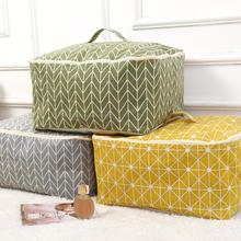 1pc Durable fabric storage finishing bag quilt pillow blanket zipper home supplies