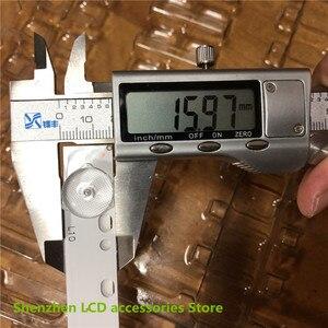 "Image 4 - 9 ชิ้น/ล็อต 32 ""Universal Light Bar10 3Vความยาว 57 ซม.LED Backlightบาร์อลูมิเนียมDLED32DH3101005.B 100% ใหม่"