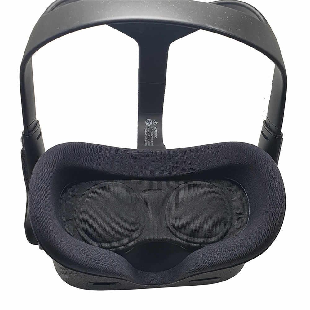Yumuşak deri kafa bandı Pad Oculus Quest/ Rifts VR kulaklık aksesuarları rahat kaymaz VR kask yastık köpük pad