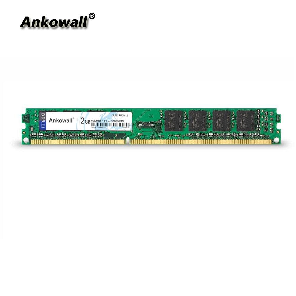 Ankowall ram DDR3 2 ГБ 4 ГБ 8 ГБ 1333 МГц 1600 МГц 1866 МГц настольная память 240pin 1,5 в продажа 2 ГБ/8 ГБ Новый DIMM