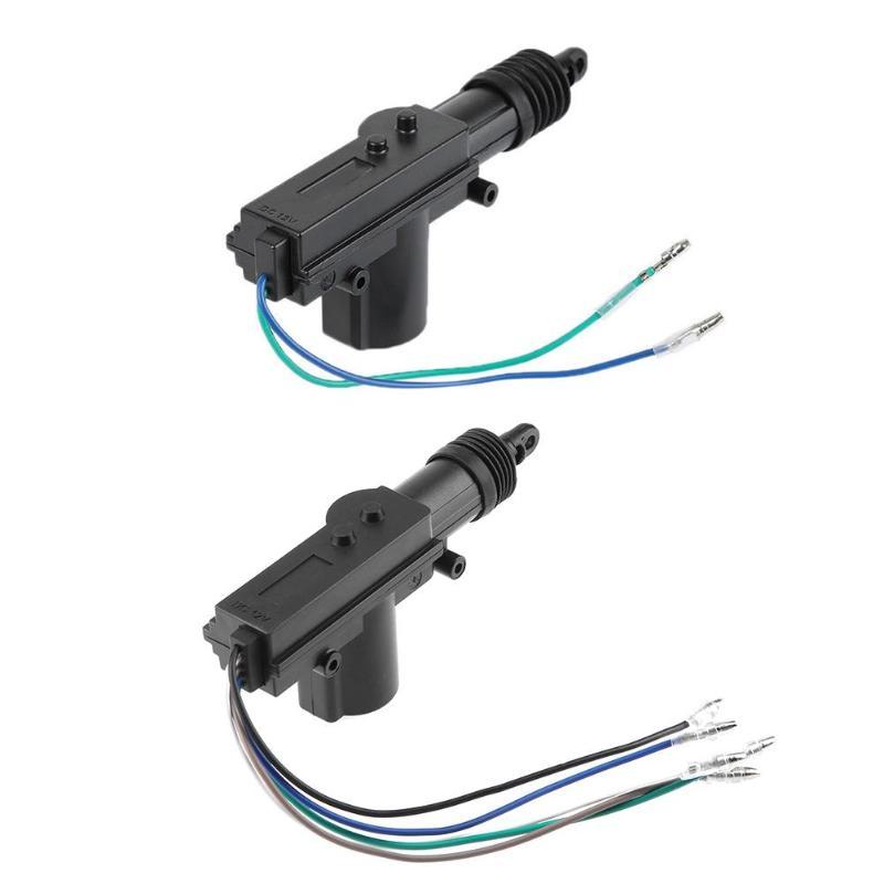 12V araba merkezi kapı kilidi aktüatör Motor tabancası otomatik merkezi kilitleme motoru araç anahtarsız hırsız alarmı sistemi aksesuarları parçaları