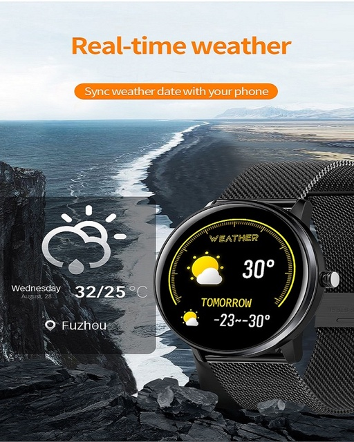 KEA Smart Watch Heart Monitor MX6