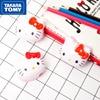 TAKARA TOMY Fashion Cartoon Hello Kitty Single Hole Pencil Sharpener Simple Cute Creative Student School Supplies