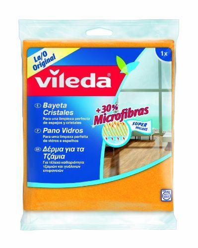 Vileda Super For Crystals 30% Microfibre–[Pack Of 2]
