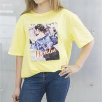Women T shirt cotton casual funny girl gift top tee