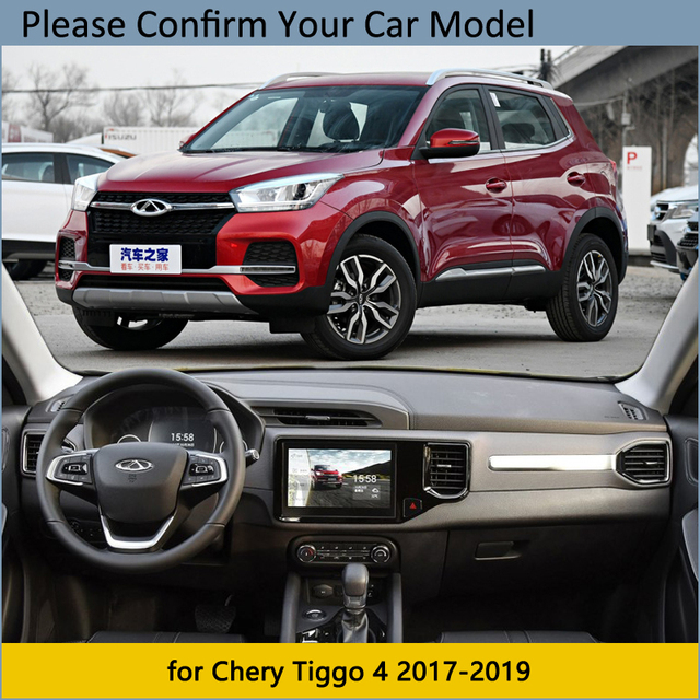 Dashboard Cover Protective Pad for Chery Tiggo 4 2017 2018 2019 Car Accessories Dash Board Anti-UV Carpet Tiggo4 5x Dashmat