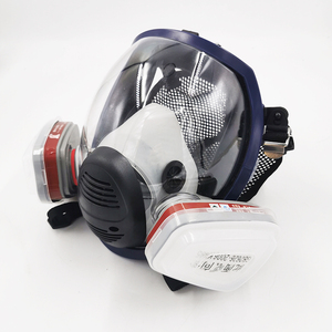 Image 4 - New Arrival Anti Gas Mask Chemical Industrial Painting Spraying Pesticides Respirator Filter Dust Full Face Mask Replace 3M 6800