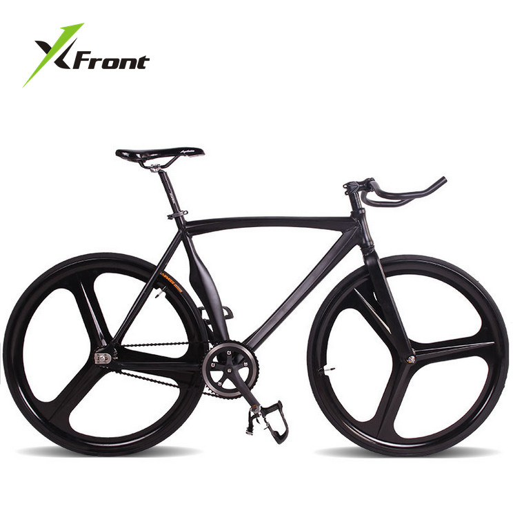 Original X-Front Brand Fixie Bicycle Fixed Gear 46cm 52cm DIY  Claw Handlebar Speed Road Bike Track Bicicleta Fixie Bicycle