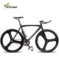 Original X Front brand fixie Bicycle Fixed gear 46cm 52cm DIY Claw handlebar speed road bike track bicicleta fixie bicycle
