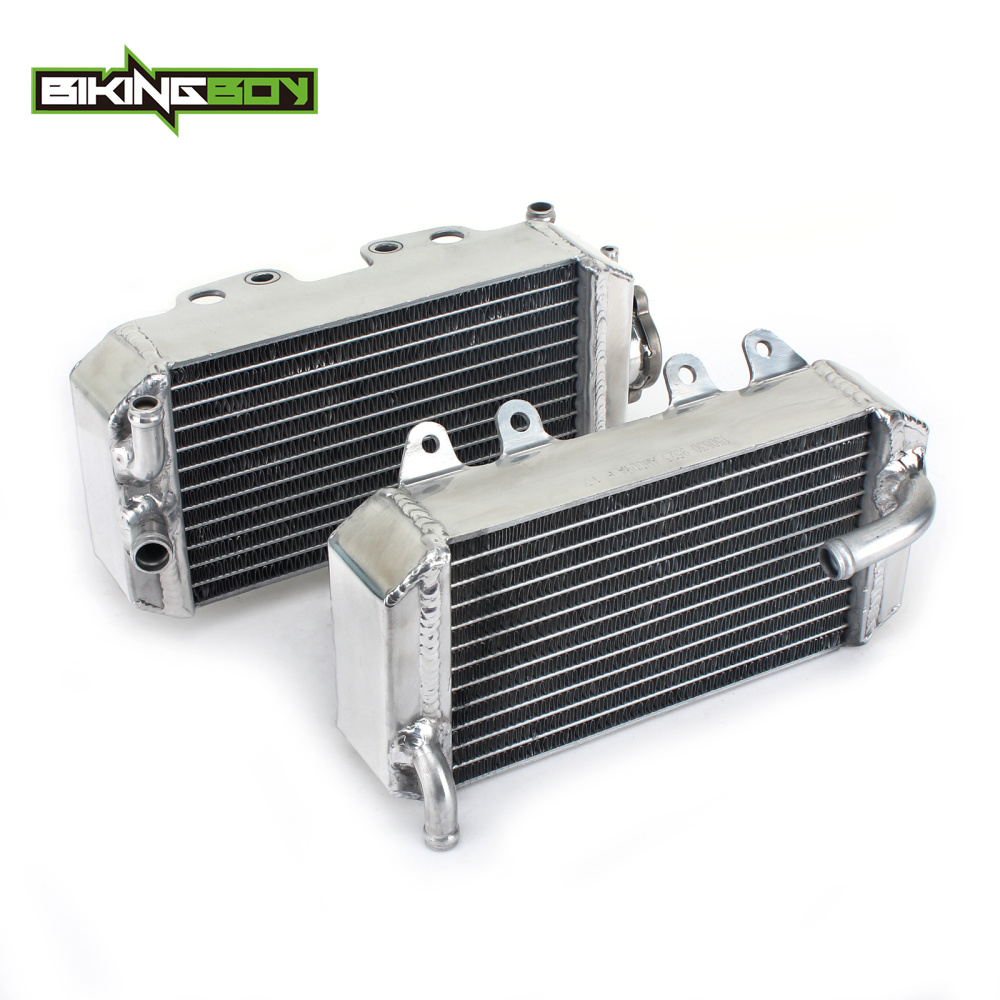 BIKINGBOY For <font><b>Honda</b></font> CRF 150 R 07 08 09 10 11 12 13 14 15 2016 2017 2018 2019 MX Aluminum <font><b>Engine</b></font> Water Cooling Radiators Coolers image
