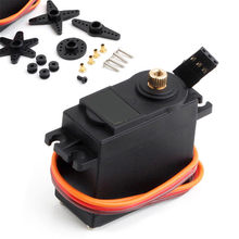 MG995 360 High Torque Metal Gear Rc Servo Motor Set Voor Boot Helicopter Auto Kit Nieuwe Hot Koop # N(China)