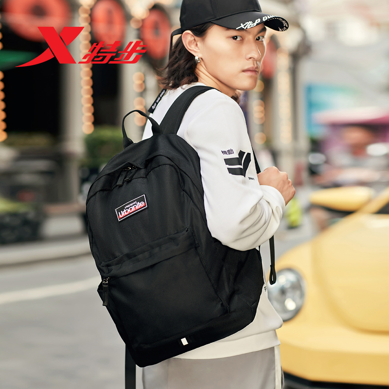 Xtep Men Woman Sports Backpack For Teenagers Students 2019 Autumn New Bag Casual Travel Fashion Backpack 881437119007