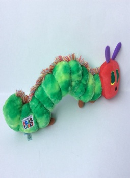 Children's Picture Book Eric Carle Doll So Hungry  Plush Toy Doll недорого