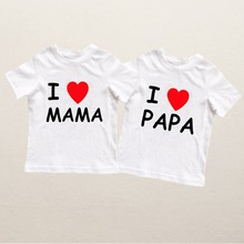 Baby T-Shir Newborn Baby-Boy-Girl Summer Infant Casual Letter 0-24M Outfits Print Mama