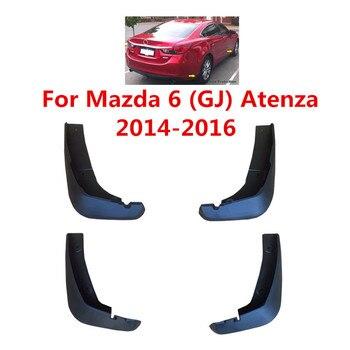 Araba Çamurluklar Mazda 6 Için (GJ) atenza 2014 2015 2016 Splash Muhafızları Çamur Flep Çamurluklar Çamurluk Araba Styling Aksesuarları