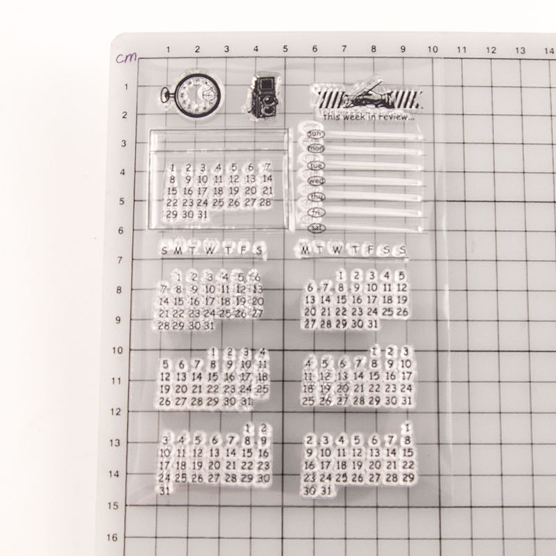17 Pcs Apron of Love Clear Stamp and Dies for Scrapbooking Card Album